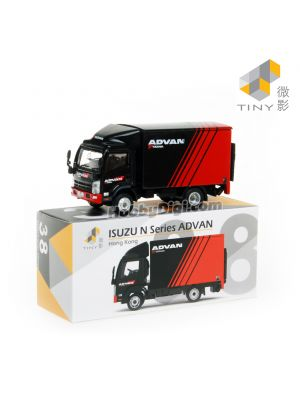 Tiny City 1:76 Diecast Model Car 38 - ISUZU N Series Advan