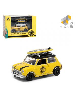 Tiny City 1:50 Diecast Model Car - Mini Cooper Mk 1 Bruce Lee
