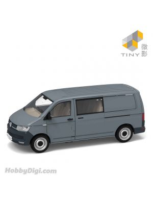 Tiny City 1:110 Diecast Model Car 176 - Volkswagen T6 Transporter (Grey)