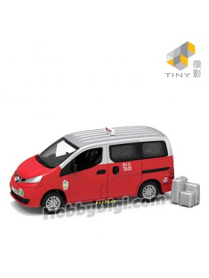 Tiny City 1:64 Diecast Model Car 39 - NV200 Taxi (Urban)