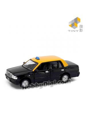 Tiny City 1:64 Diecast Model Car SG3 - Toyota Singapore Crown Taxi (Black)