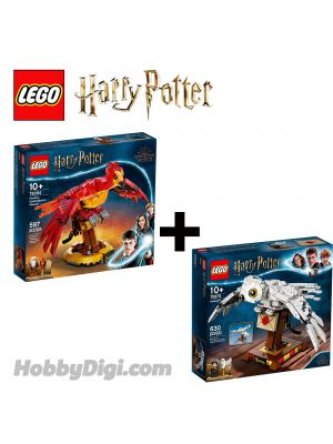 LEGO Harry Potter 75979-76394 : Hedwig | Fawkes