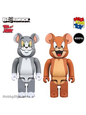 Medicom Toy Be@Rbrick - Tom & Jerry 400% 套裝