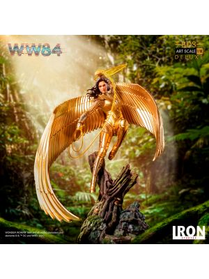 Iron Studios Deluxe Art Scale 1/10 Statue - Wonder Woman (golden eagle armor)
