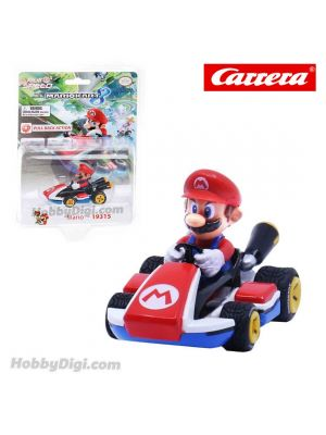 Carrera Pull Back Diecast Model Car - Nintendo Mario Kart 8 PULL BACK CAR PULL BACK CAR - Mario