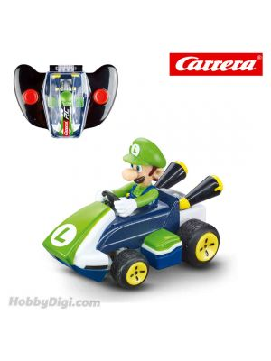 Carrera Remote Control Model Car - 2.4GHz Mario Kart ™ Mini RC - Luigi