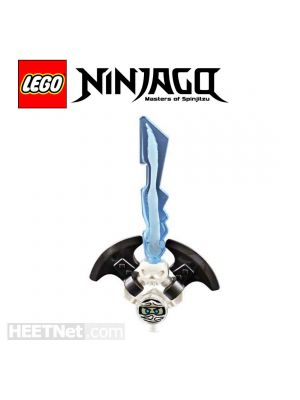 LEGO Loose Accessories Ninjago: The Djinn Blade with imprisoned Zane