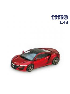 EBBRO 1:43 Diecast Model Car - Honda NSX 2016 Valencia Red Pearl