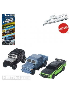 Mattel Fast and Furious Diecast Model Car - Off-Road Octane Pack