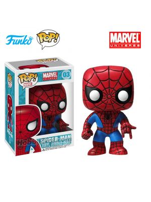 Funko Pop! Marvel 03: Spider-Man Vinyl Bobble-Head