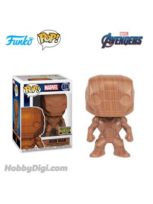 Funko Pop! Heroes 674: Iron Man (Wood Deco)