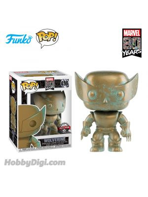 Funko IE Pop! Heroes 496:  Wolverine (Patina)