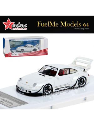 FuelMe 1:64 Limited Resin Model Car - RWB ARMY GIRL Ver.1