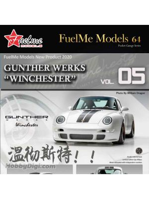 FuelMe 1:64 Limited Resin Model Car - Gunther Werks 993 Winchester