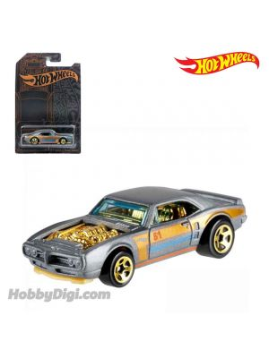 Hot Wheels 51st Anniversary 1:64 合金車 - Satin & Chrome Series - Custom 67 Pontiac Firebird