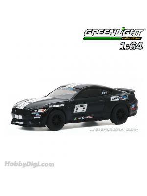 Greenlight 1:64 合金車 - 2016 Ford Mustang Shelby GT350 - Ford Performance Racing School GT350 Track Attack #17 - Shadow Black (Hobby Exclusive