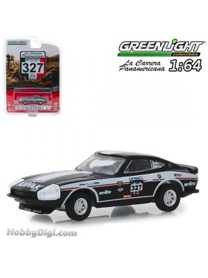 Greenlight 1:64 合金車 - #327 1974 Datsun 260 Z (La Carrera Panamericana 2016) S1