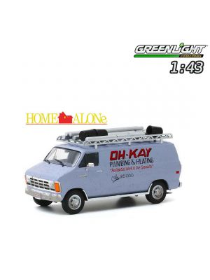 Greenlight 1:43 Diecast Model Car - Home Alone (1990) - 1986 Dodge Ram Van