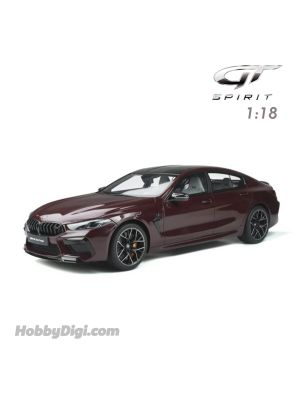 GT SPIRIT 1:18 Resin Model Car - BMW M8 GRAN COUPE Ametrin metallic