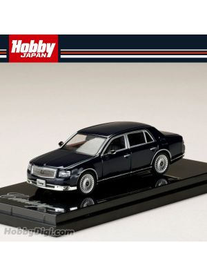 Hobby JAPAN Diecast Model Car - 1/64 Toyota CENTURY (UWG60) CYLLENE BLUE MICA