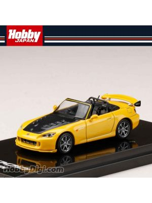 Hobby JAPAN Diecast Model Car - 1/64 Mugen S2000 Yellow