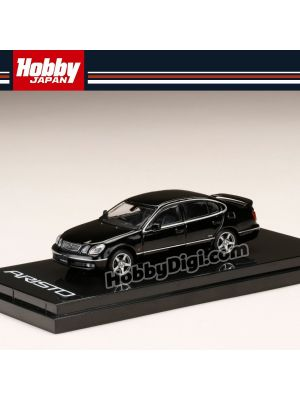 Hobby JAPAN Diecast Model Car - 1/64 Toyota ARISTO V300 VERTEX EDITION Black