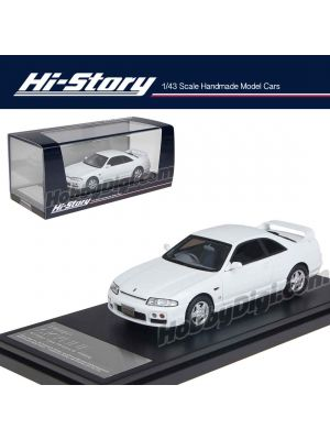 Hi-Story 1:43 Hand Made Resin Model Car - Nissan Skyline GTS25t Type M specII 1996 White