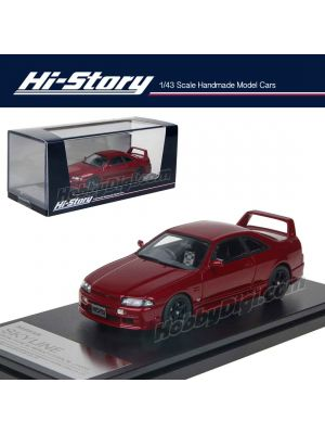 Hi-Story 1:43 Hand Made Resin Model Car - NIssan Skyline GTS25t TypeM Nismo Version 1996 Red