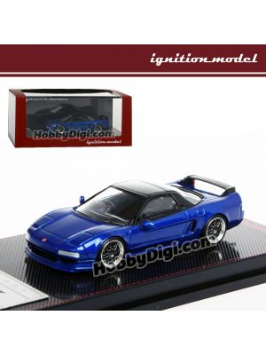 Ignition Model 1:64 模型車 - Honda NSX (NA1) Blue Metallic