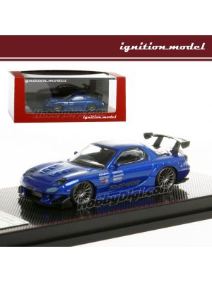 Ignition Model 1:64 模型車 - Mazda RX-7 (FD3S) RE Amemiya Blue Metallic