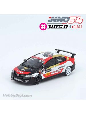 INNO64 X KOSO 1:64 特別版合金模型車 - Honda Civic FD2 #480 in Taiwan Speed Festival 2018
