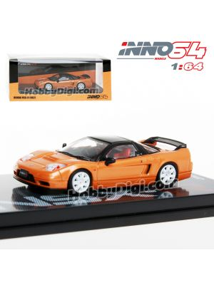 INNO64 1:64 合金模型車 - HONDA NSX-R NA2 Imola Orange Pearl W/ Extra Wheels