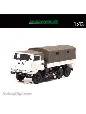 HIKOSEVEN islands 1:43 Diecast Model Car - JGSDF 3 1 / 2t truck (Type 73 large truck UN Peacekeeping Operations Specification)