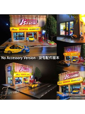 J.Diorama Model Car Diorama Set - J's Racing Garage No Accessory Version