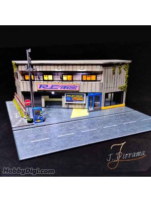 J.Diorama Model Car Diorama Set - Vol.2 RE Amemiya