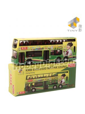 Tiny City 1:110 Diecast Model Car - KMB Enviro500 TransBus MA PAK LEUNG (116)