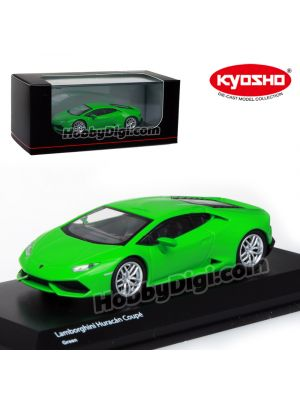 KYOSHO 1:64 Diecast Model Car - Lamborghini HURACAN Green