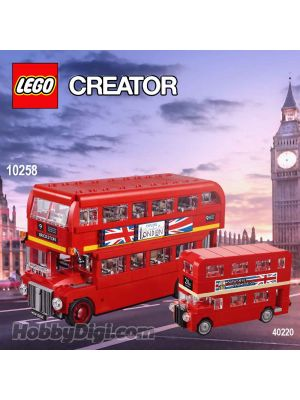 LEGO Creator 10258 40220: London Bus 套裝