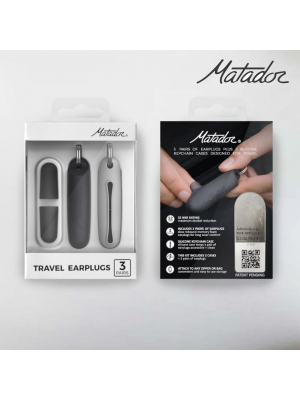Matador Matador Travel Earplugs Kit