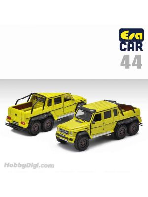 Era Car 1:64 Diecast Model Car - 44 Mercedes-Benz - G63 AMG 6X6 - Kinetic Yellow (1st Special Edition)