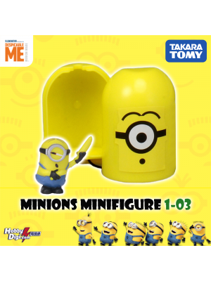 Takara Tomy Palycolle Figure - Minions Vol.1 (Normal 03)