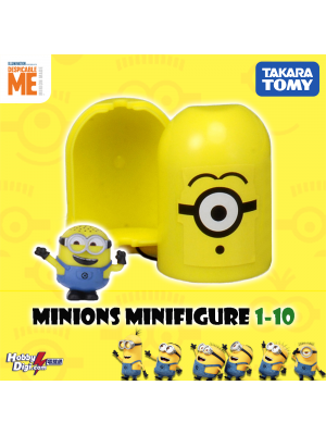 Takara Tomy Palycolle Figure - Minions Vol.1 (Normal 10)