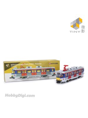 Tiny City 1:120 Diecast Model Car MTR02 - MTR Passenger Train (1992 - Present)