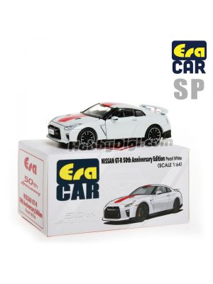 Era Car 1:64 合金車 - SP 26 Nissan GT-R 50th Anniversary Edition Pearl White