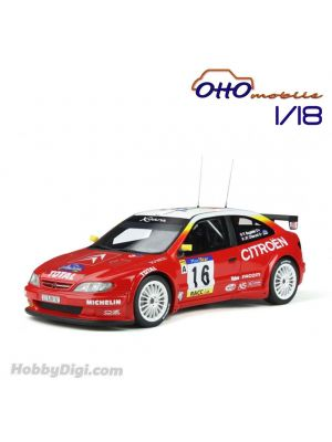 OttO Mobile 1:18 Resin Model Car - Citroen XSara Kit Car P. Bugalski / Catalunya / #16