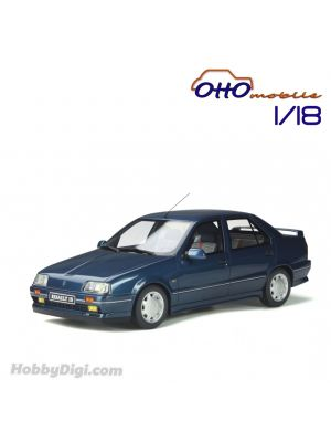 OttO Mobile 1:18 Resin Model Car - Renault 19 Chamade 16S Ph.1 Blue Sport