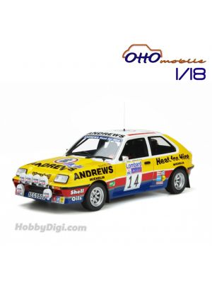 OttO Mobile 1:18 Resin Model Car - Vauxhall Chevette Gr.B 2300 HSR