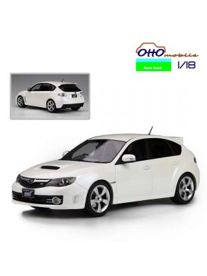 OttO Mobile Route Twisk 1:18 模型車 - 2010 Subaru Impreza WRX STI Version X White
