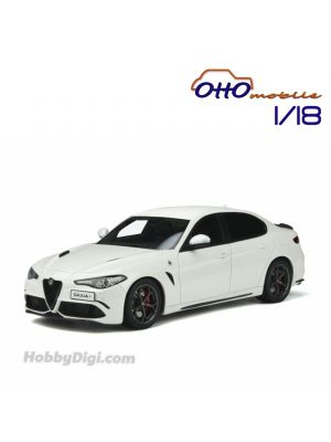 OttO Mobile 1:18 Resin Model Car - Alfa Romeo Giulia Quadrifoglio