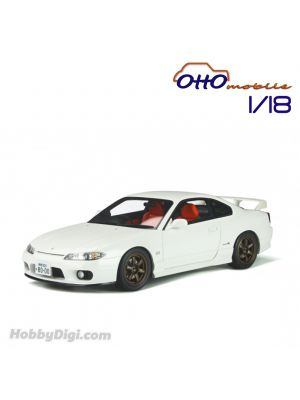 OttO Mobile 1:18 Resin Model Car - Nissan Silvia spec-R AERO (S15) Aspen White
